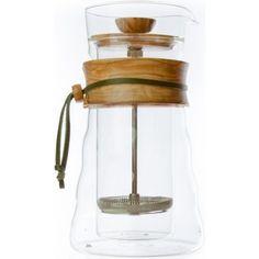 Hario Woodneck Coffee Press - stempelkande