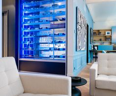 'Cupboard' is accessible from the kitchen too......very cool