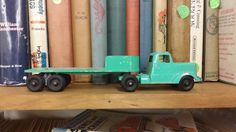 Vintage Tootsietoy Transport Truck by BlingAndBlueJeans on Etsy