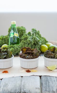 Three Best Kale Chip Recipes : If you have yet to hop on the kale chip bandwagon, here's your chance! We've compiled our three favorite kale chips recipes to share with you. Whether you're craving salt or spice, we've got you covered. #VegaRecipe