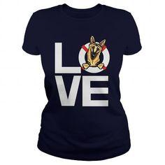 Love German Shepherd Shirt