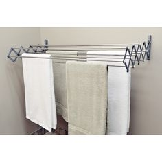 YES 🤓 why didnt i think of this its epic genius imperative Smart Dryer Expandable Accordion Indoor/Outdoor Drying Rack (Regular), Silver (Stainless Steel) Drying Rack Laundry, Clothes Drying Racks, Clothes Dryer, Laundry Closet, Laundry Room Organization, Laundry Room Design, Basement Laundry, Laundry Bin, Laundry Rooms