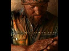 "▶ Zac Brown Band - On this train - Love this song.  ""My daddy said happiness is found in your heart."""
