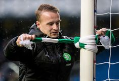 Leigh Griffiths at Ibrox, hogmanay 2016