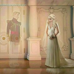 Tag a Disney lover!Cute wedding creation 👰💕By Disney Songs, Disney Love, Disney Frozen, Elsa Y Jack Frost, Jack Frost And Elsa, Disney And Dreamworks, Disney Pixar, Disney Mickey, Rapunzel