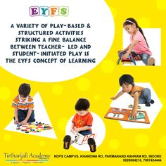 Eyfs Curriculum, Nursery School, Indore, High Standards, Kindergarten Teachers, Learning Environments, Pre School, Innovation, Student