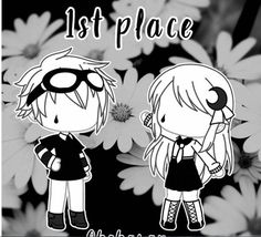 First place black flower outfits ❤ Bad Girl Outfits, Couple Outfits, Club Outfits, Character Outfits, Cute Anime Character, Arte Do Kawaii, Anime Wolf Girl, Drawing Anime Clothes, Clothing Sketches