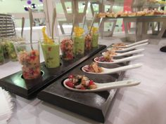 #catering #shots #recepción