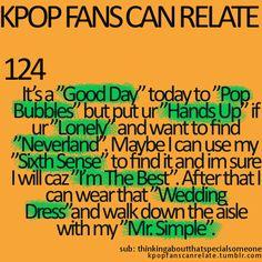 IU, Hyuna, Big Bang/2PM, 2NE1, U-Kiss, Brown Eyed Girls, 2NE1, Taeyang, and Super Junior... <3 this SO MUCH... :D
