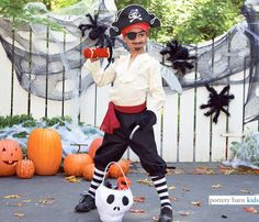 pirate costume and accessories at pottery barn kids
