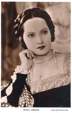 Merle Oberlon as Anne Boleyn...I haven't seen her in this role but she is beautiful.
