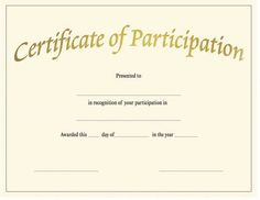 Blank Award Certificate Templates Parion Cookie Of Template Free Printable