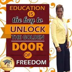 #Education is the key to unlock the golden door of freedom. www.pmstudentservices.org