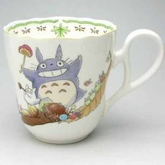 tea with totoro! HERMOSO