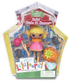 Lalaloopsy Mini Figure Baley Sticks N. Straws: Amazon.co.uk: Toys & Games