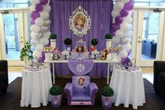Sofia the First Birthday Party Ideas | Photo 2 of 19 | Catch My Party
