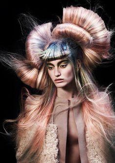 Netherlands. The avant-garde hairdresser year 2013. | HairTrend