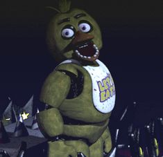 Chica, wat r u doin... CHICA, STAHP.