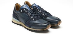 Magnanni Leather Sneakers Shoes for Men