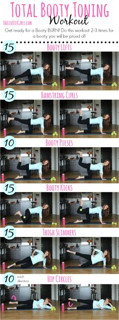 Total Booty Toning - 6 moves for a lifted backside!