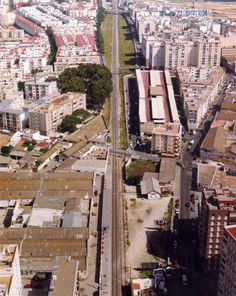 Cadiz, Train Tracks, Youth, Parking Lot, Old Pictures, Souvenirs