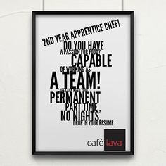 Apprentice chef required at cafe lava.  #destinationwarrnambool #Warrnambool #cafelava #eat3280 #jobs3280 by destinationwarrnambool
