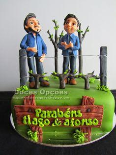 Doces Opções: Aniversário dos gémeos futuros engenheiros agrónom...