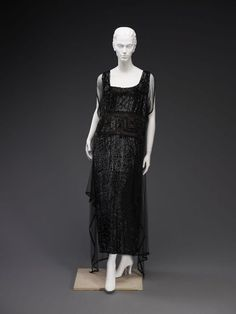 1920s dress via The Indianapolis Museum of Art