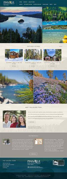 Custom WordPress real estate website was built responsively to cater to the growing mobile market. TThe Souers Team from Lake Tahoe cover multiple boards and includes many of our real estate website add-ons as well as iHomefinder IDX integration. http://www.homeintahoe.com/. Learn more about our real estate designs at www.IDXCentral.com #realestate #realestatewebsites #realestatemarketing