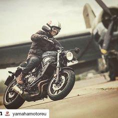 #Yamaha #xsr700 ABS: the best of yesterdays design and tomorrows technology.   #fastersons #motorcycle #bike #sportheritage #motorcyclesofinstagram #motorbike #Repost @yamahamotoreu http://ift.tt/2kVc0ln