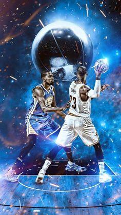 NBA wallpaper Lebron and Kevin Durant