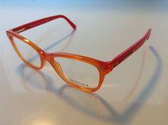 NEW Authentic VERSACE Mod. 3190 5100 Orange 52mm RX Eyeglasses #Versace