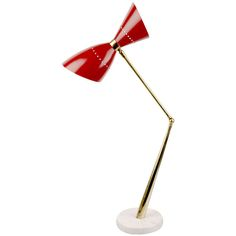 Angelo Lelli for Arredoluce Lamp. Gotta love these colorful Italian designs!