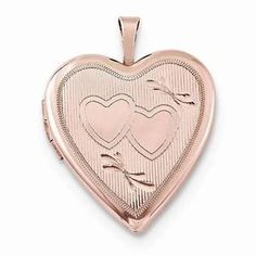 NEW-ROSE-GOLD-OVER-925-STERLING-SILVER-HEART-DOUBLE-HEARTS-LOCKET-3-3g-78