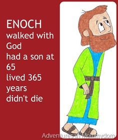 Enoch Walked With God Picture Book