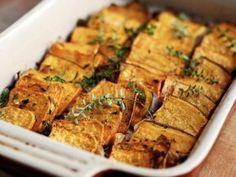 Domino Roasted Sweet Potatoes