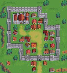 Game Character Design, Game Design, Modele Pixel Art, Video Game Sprites, 8bit Art, Pixel Design, Pixel Art Games, Game Concept Art, City Maps