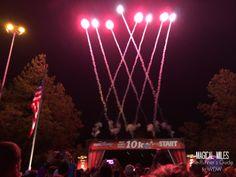 Start line of the inaugural runDisney Walt Disney World 10K race http://www.runnersguidetowdw.com/