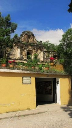 Iglesia de la Compañía de Jesús   Antigua Guatemala