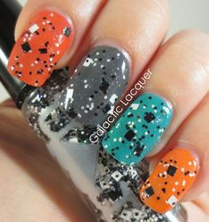 Galactic Lacquer: Rainbow Honey - The Robot Collection