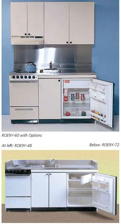 Efficiency Kitchenettes ~  Http://www.acmekitchenettes.com/full_feature_kitchenettes.html · Micro  KitchenCompact ...