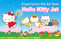EVA Air now has a Hello Kitty Jet?! I would gladly fly to Hong Kong to ride this jet and eat a Hello Kitty themed meal.