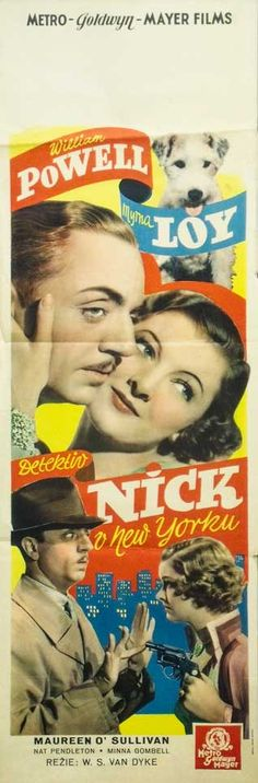 The Thin Man. 1934. W.S. Van Dyke.  To hear the show, tune in to http://thenextreel.com/tnr/the-thin-man or check out our Pinterest board: http://www.pinterest.com/thenextreel/the-next-reel-the-podcast/ https://www.facebook.com/TheNextReel  https://twitter.com/TheNextReel http://www.pinterest.com/thenextreel/ http://instagram.com/thenextreel https://plus.google.com/+ThenextreelPodcast http://letterboxd.com/thenextreel http://www.flickchart.com/thenextreel