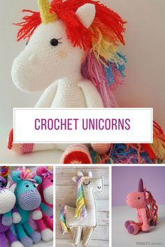 These crochet unicorns are fabulous! Thanks for sharing!