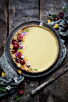 Melktert (Milk Tart) – Eighty 20 Nutrition Tart Recipes, Paleo Recipes, Dessert Recipes, Baking Desserts, Paleo Dessert, Making Bone Broth, Melktert, Pie Tin, Sweet Pastries