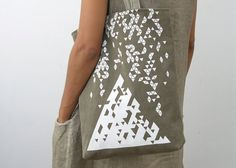 Hey, I found this really awesome Etsy listing at https://www.etsy.com/listing/193978269/geometrical-canvas-tote-triangles
