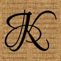Monogram Initial Letter K Letter Clip Art Letter Decal Letter K Tattoo, Letter Logo, Initial Letters, Monogram Initials, Clip Art, Calligraphy Letters, Crayola Calligraphy, Arabesque, Tatoos