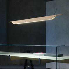 TROAG - Lámpara de techo Madera Natural L Foscarini