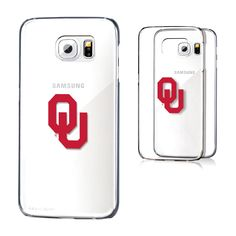 Oklahoma Sooners Galaxy S6 Clear Case - $15.99