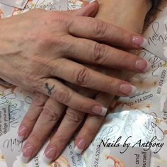 Perfect French nails by Anthony